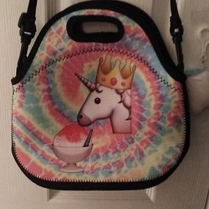 Other - Tie dye unicorn lunch box